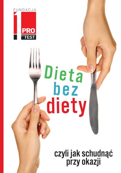 """""""Dieta bez diety"""" okładka"""