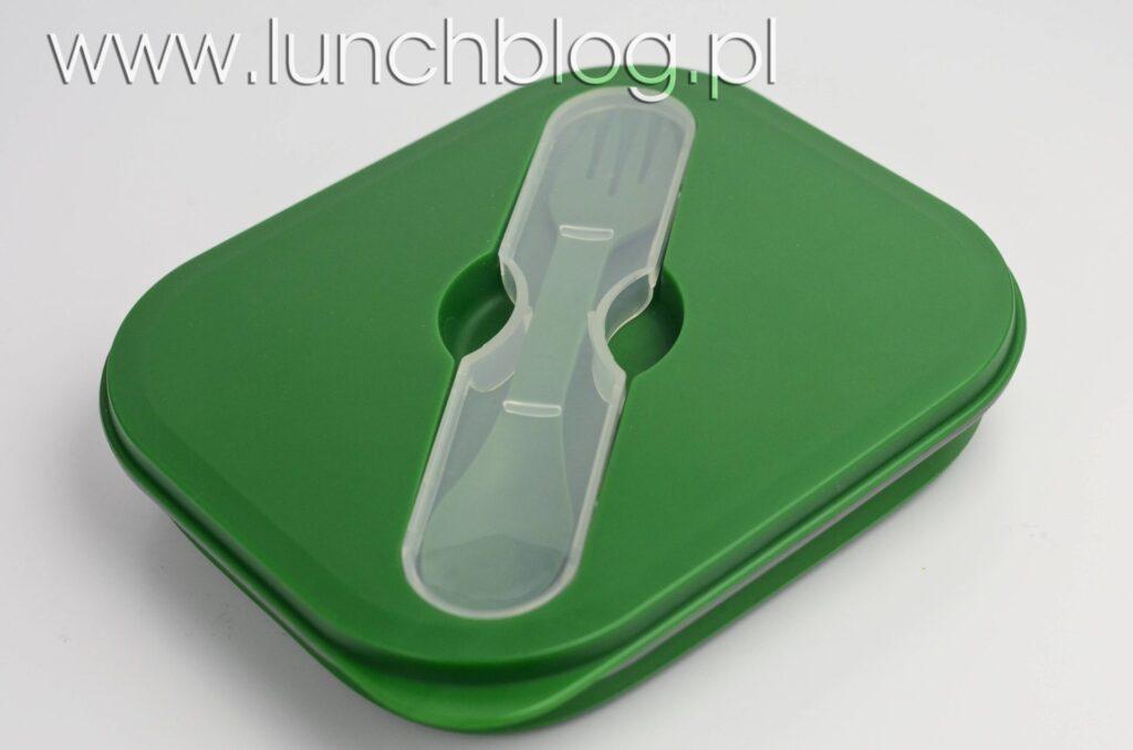 Lunchbox Wacky Practicals silikonowy, składany