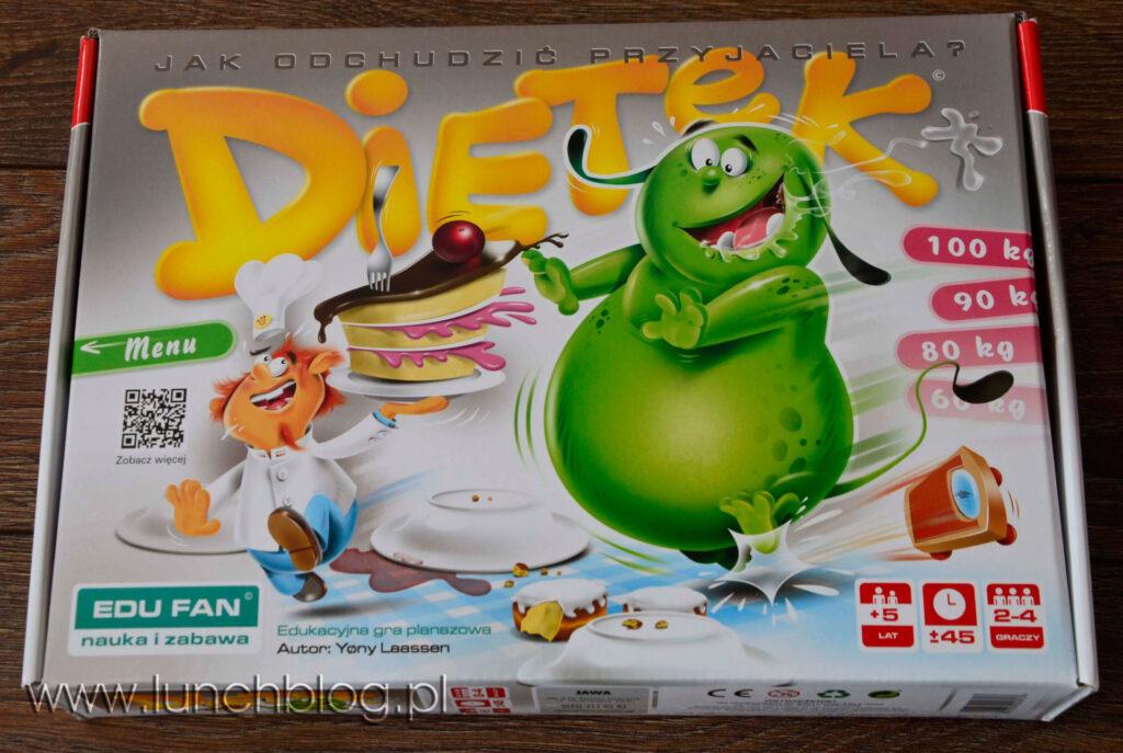 Opakowanie gry Dietek