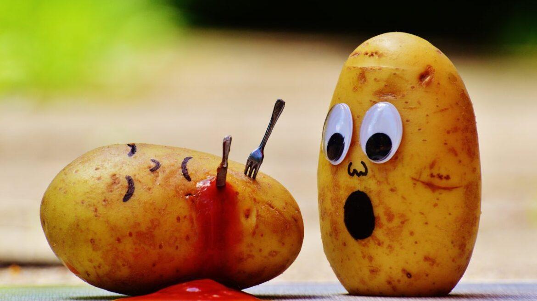 Śmieszne ziemniaki