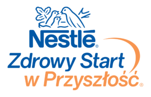 Logo Nestle Zdrowy Start w Przyszłość