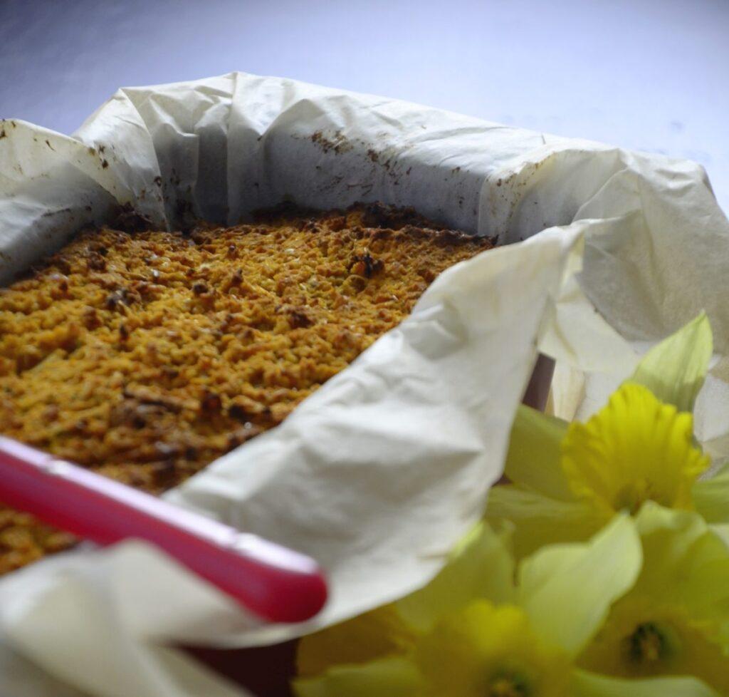 Pasztet wegetariański z soczewicą i komosą ryżową