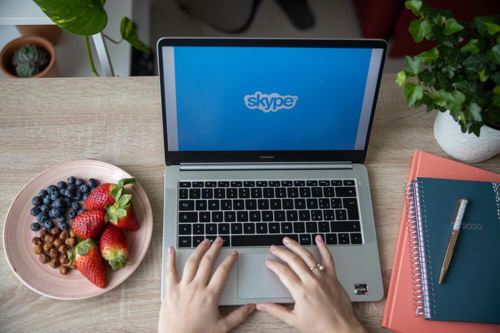 dieta przez skype