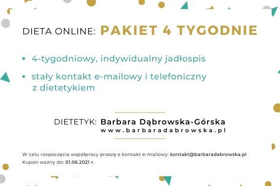 Dieta online- kupon prezentowy - wersja 1.2