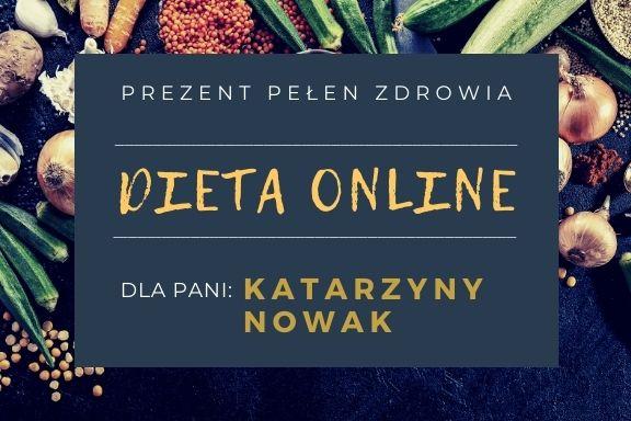 Dieta online- kupon prezentowy - wersja 2