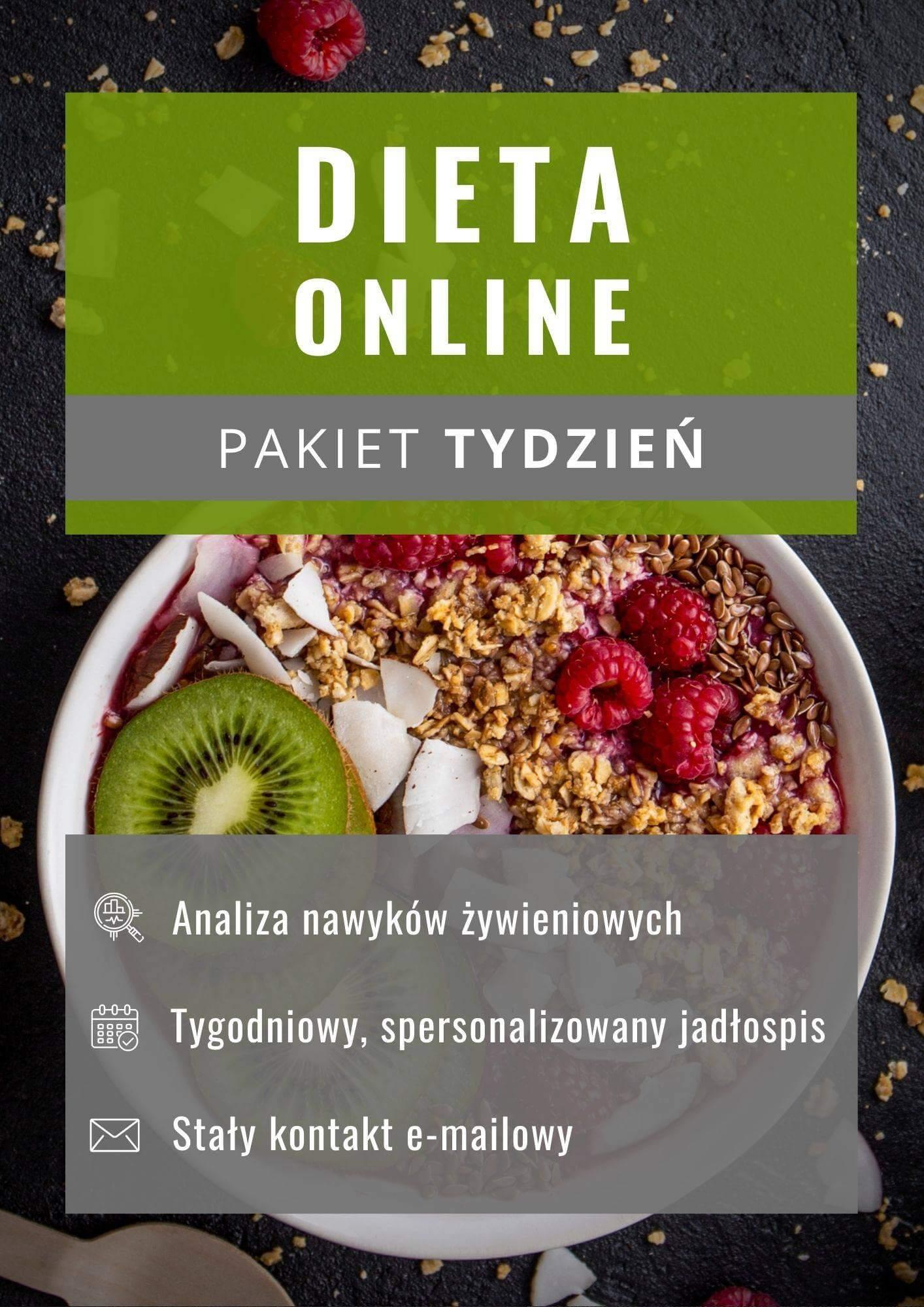 Dieta online - pakiet tydzień