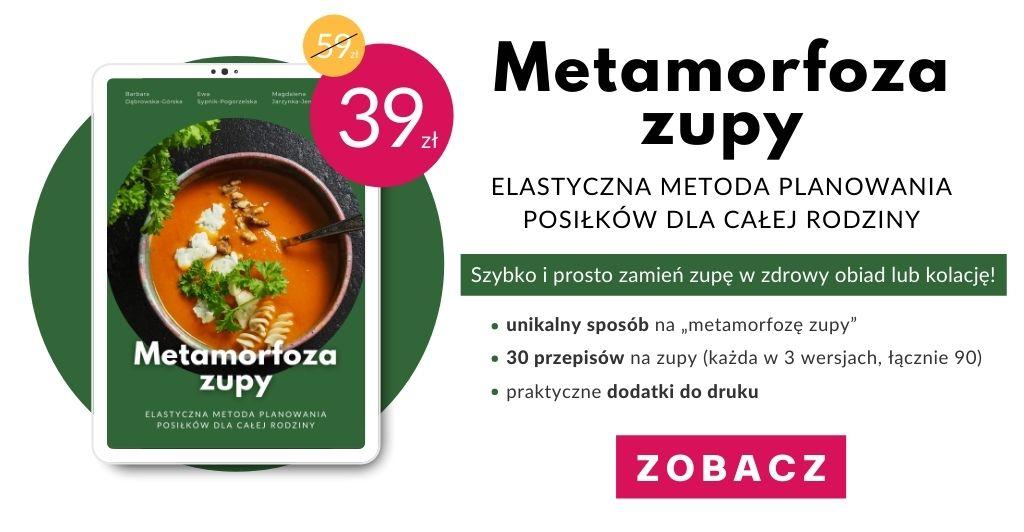 Metamorfoza zupy - banner poziomy - cena promocyjna 1