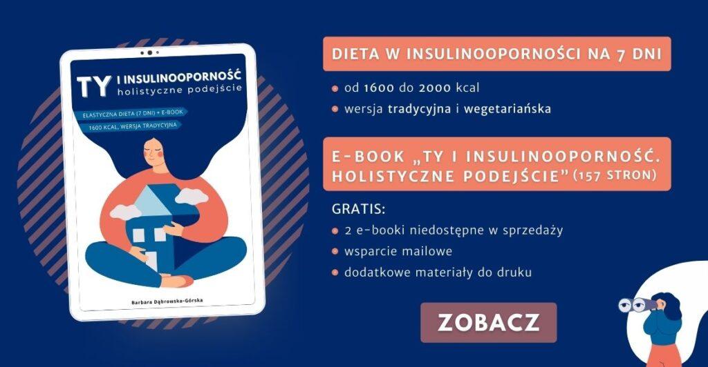 Insulinooporność ebook Banner 1 - POZIOM na www