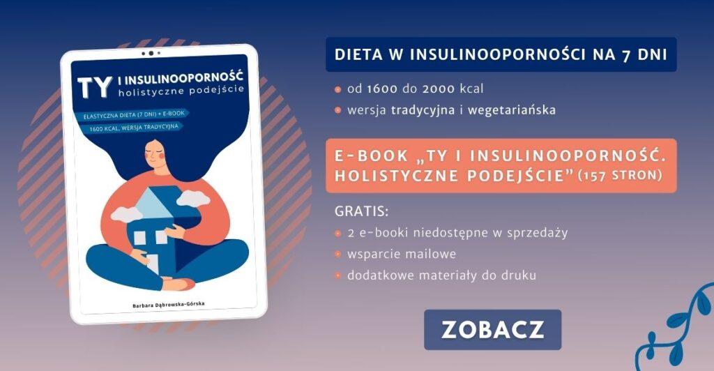 Insulinooporność ebook Banner 2 - POZIOM na www